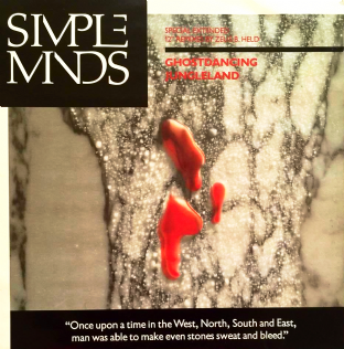"Simple Minds - Ghostdancing (12"") (VG/VG)"